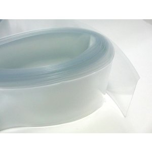 バッテリパック化用熱収縮チューブ75mm幅×1m(透明)|robotena