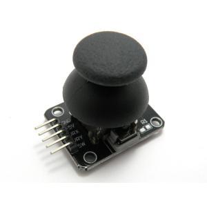 ジョイスティックモジュール(4方向アナログ、1プッシュスイッチ)|robotena