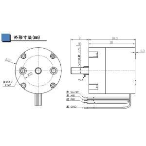 軽量ロータリーエンコーダー(REL18-100BP)|robotena|02