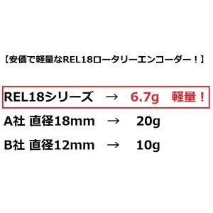 軽量ロータリーエンコーダー(REL18-100BP)|robotena|04