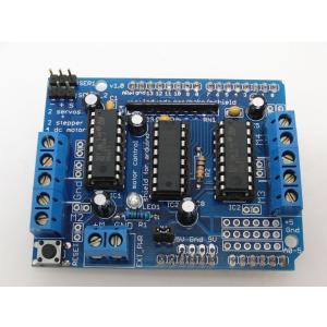 モータードライバシールド(L293D) for Arduino|robotena