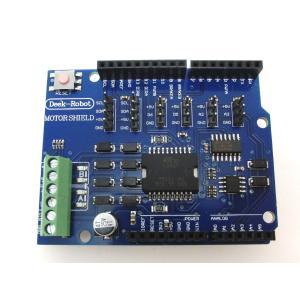 モータードライバシールド(L298P) for Arduino|robotena
