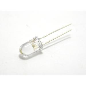 超高輝度白色LED(5mm砲弾型)10個入|robotena