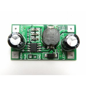 LEDドライバモジュール(3W, 5-35V, 700mA)|robotena