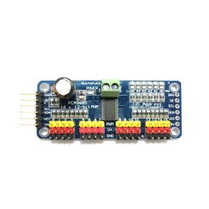 16チャンネル12bit PWMサーボドライバ(I2C, PCA9685, Arduino)|robotena