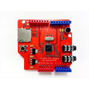 MP3音楽シールド for ArduinoUNO(VS1053, MicroSD)|robotena