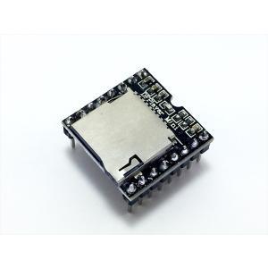 ミニMP3プレーヤーモジュール(DFPlayer, MicroSD)|robotena