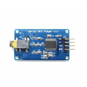MP3プレーヤーモジュール(YX5300, UART, MicroSD, Φ3.5ジャック)|robotena