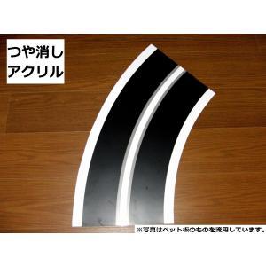 【アクリル】カーブ半径600mm(R600)4枚製作キット robotena
