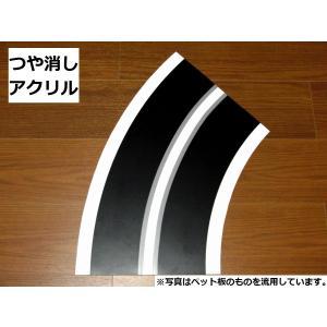 【アクリル】カーブ半径450mm(R450)4枚製作キット robotena