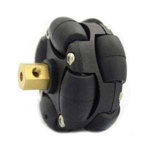 プラスチックオムニホイール 直径38mm(Φ4mmハブ付き)|robotena