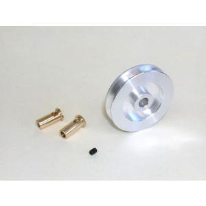 アルミプーリー(ブッシュ入) 外径40mm×内径3,4,6mm|robotena