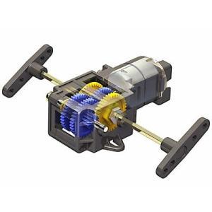 タミヤ シングルギヤボックス(4速タイプ)|robotena