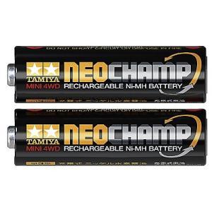 タミヤ ニッケル水素電池 ネオチャンプ (2本)|robotena
