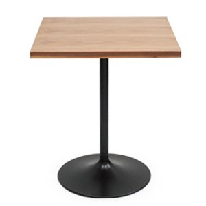 カフェ テーブル 天板木全3種 オーク チーク ウォールナット|rocca-clann