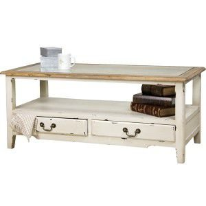 センターテーブル フレンチカントリー ローテーブル カフェ 家具 インテリア リビング 店舗什器 シャビー アンティーク コーヒーテーブル|rocca-clann
