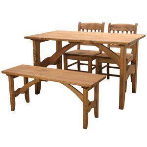 カフェ スタイル ダイニングセット ナチュラル 家具 インテリア 木目 ダイニング パイン材 天然木 テーブル 椅子 チェア ベンチ ダイニングセット カントリー調|rocca-clann