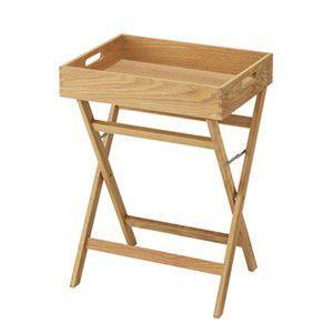 送料無料 Sunny(サニー) トレイテーブル ディスプレイ棚 ナチュラル シンプル|rocca-clann