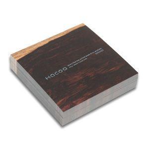 Hacoa メモブロック ローズウッド  ナチュラル 文房具 シンプル 木目|rocca-clann