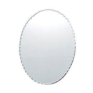 エッジングオーバルミラー 壁掛け 鏡 ウォールミラー デザイン|rocca-clann