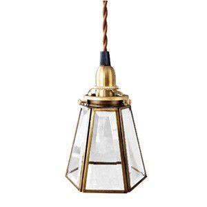 エッジングペンダントランプ 60cm アンティーク 照明 カフェ 真鍮|rocca-clann