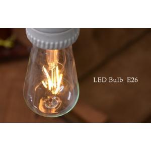 LED Bulb エジソンランプ LED電球 E26 エコ 節電 フィラメント アンティーク クラシック レトロ 裸電球 インテリア照明 LEDバルブ|rocca-clann|02