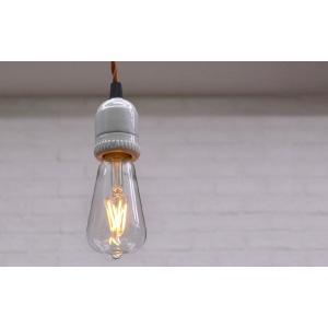 LED Bulb エジソンランプ LED電球 E26 エコ 節電 フィラメント アンティーク クラシック レトロ 裸電球 インテリア照明 LEDバルブ|rocca-clann|04