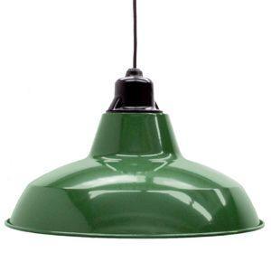 KAIL-BG  ペンダントライトL グリーン 緑 レトロ 照明 工業デザイン 北欧 カフェ インダストリアル LED対応 インテリア照明 大型 ペンダントランプ|rocca-clann