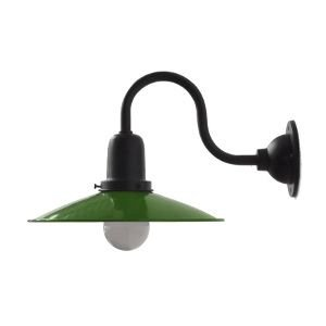 IEPE-DG ブラケットランプ ダウン型 グリーン 防雨型 玄関灯 ウォールランプ 照明器具  門灯 外灯 レトロ照明 緑 ブラケットライト|rocca-clann