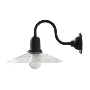 IEPE-DC ブラケットランプ ダウン型 透明ガラス 門灯  外灯 レトロ照明 緑 ブラケ ットライト|rocca-clann