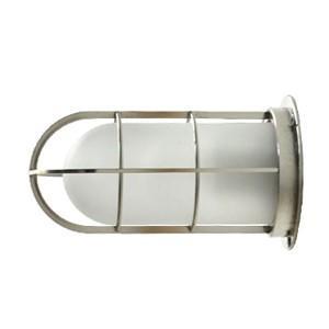 送料無料 NAVE-DK-SS デッキライト シルバー(つや消しガラス) 船舶照明 マリンランプ  壁付け照明 サーフ 防雨 防湿  玄関灯 ブラケットライト 外灯|rocca-clann