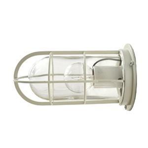 送料無料 NAVE-DK-WC デッキライト ホワイト 船舶照明 マリンランプ  壁付け照明 サーフ 防雨 防湿 マリンライト 玄関灯 ブラケットライト 外灯|rocca-clann
