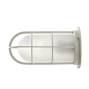 送料無料 NAVE-DK-WS デッキライト ホワイト(つや消しガラス) 船舶照明 マリンランプ  壁付け照明 サーフ 防雨 防湿  玄関灯 ブラケットライト 外灯|rocca-clann