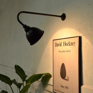 STAN-A600 看板灯 ブラケットライト 間接照明 LED対応 ブラック 店舗照明 インダストリアル 壁付け照明  屋外 表札灯 カフェ照明 黒 外灯 門灯  防雨型|rocca-clann|04