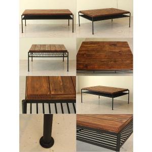 送料無料 VIT リビングテーブル センターテーブル ローテーブル インダストリアルデザイン rocca-clann 03