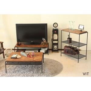 送料無料 VIT リビングテーブル センターテーブル ローテーブル インダストリアルデザイン rocca-clann 04