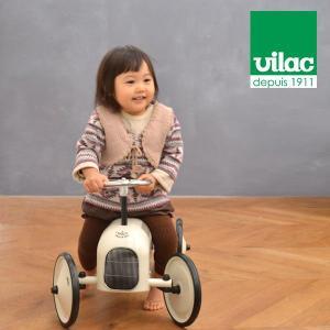 送料無料 VILAC ヴィラック レーシングカー ホワイト 乗用玩具 乗り物 車 レトロ フランス クラシックカー キッズ おもちゃ インテリア|rocca-clann|03