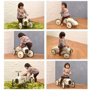 送料無料 VILAC ヴィラック レーシングカー ホワイト 乗用玩具 乗り物 車 レトロ フランス クラシックカー キッズ おもちゃ インテリア|rocca-clann|04