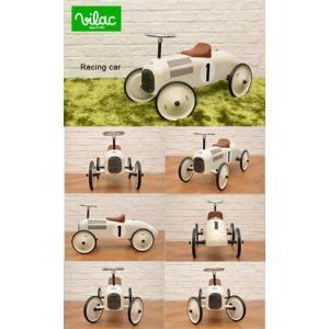 送料無料 VILAC ヴィラック レーシングカー ホワイト 乗用玩具 乗り物 車 レトロ フランス クラシックカー キッズ おもちゃ インテリア|rocca-clann|06
