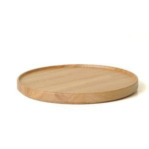 HASAMI PORCELAIN HP025 Wood Tray φ22cm|rocca-clann