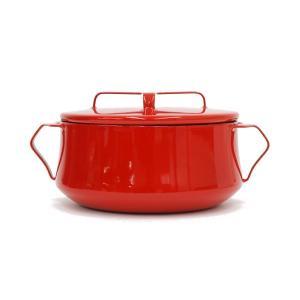DANSK コベンスタイルII  両手鍋 18cm レッド  ダンスク 北欧 キッチン雑貨 調理器具 デンマーク ほうろう 琺瑯 鍋 赤|rocca-clann|02