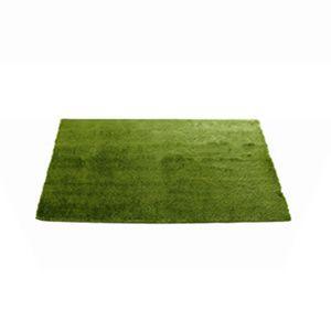 GRASS RUG  グラスラグ M 90 x 130 芝生ラグ 草原 マット ホットカーペット対応 シャギーラグ|rocca-clann