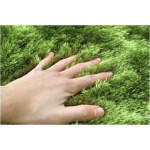 送料無料 GRASS RUG  グラスラグ Ф150 芝生ラグ 草原 マット ホットカーペット対応 シャギーラグ 緑|rocca-clann|02
