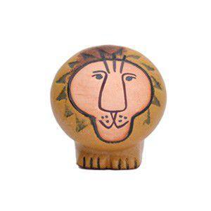 Lisa Larson リサラーソン Lion ライオン S 置物 陶器 オブジェ|rocca-clann