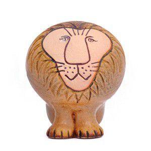 LisaLarson(リサラーソン) Lion ライオン M 置物 陶器 オブジェ 北欧雑貨|rocca-clann