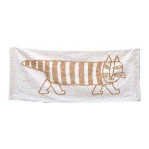 Lisa Larson リサラーソン フェイスタオル マイキー ベージュ 猫|rocca-clann