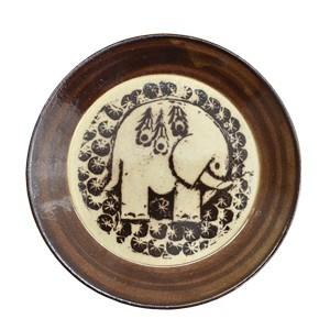 LisaLarson(リサラーソン)  益子の皿 ぞう  象 食器 プレート 北欧 お皿|rocca-clann