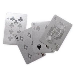 シルバー プレイングカード トランプ|rocca-clann