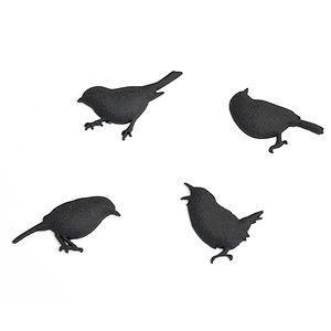 Bird Magnet バードマグネット ブラック  小鳥|rocca-clann