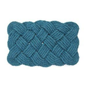 infinity coir mat  コイヤーマット  ブルー 玄関マット  庭先|rocca-clann